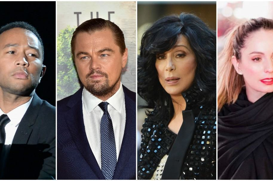John Legend / Leonardo DiCaprio / Cher / Claudia Bahamón