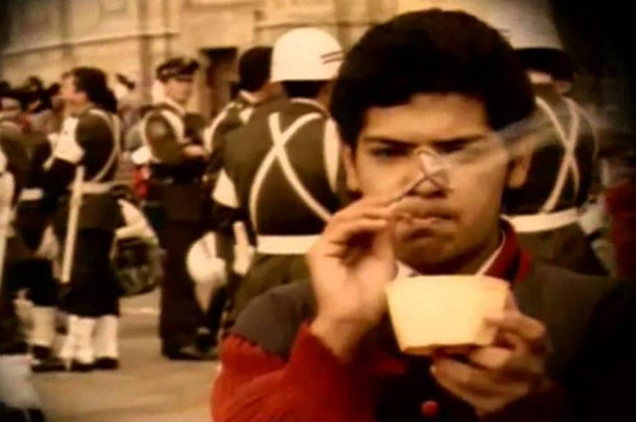 Imagen del video de 'Señor Matanza', de Mano Negra