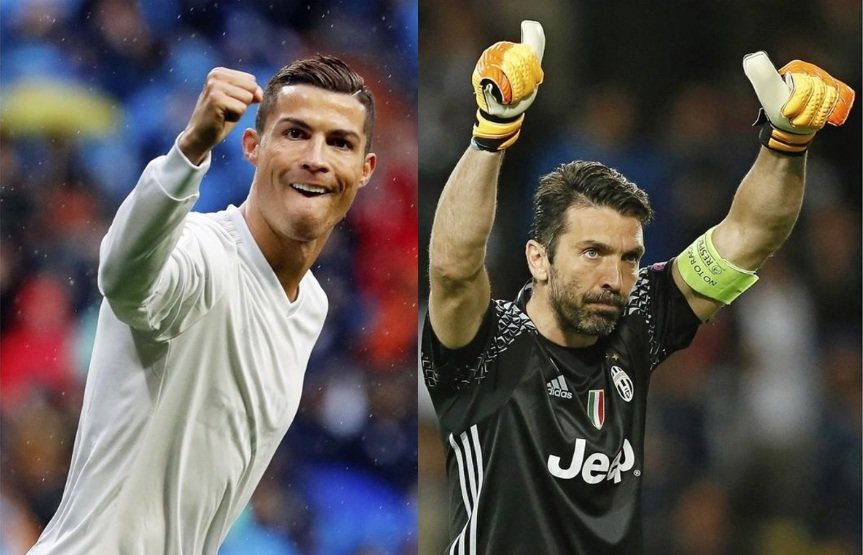 Cr7 y Buffon