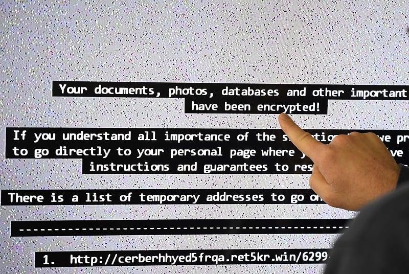 Programa informático 'ransomware'