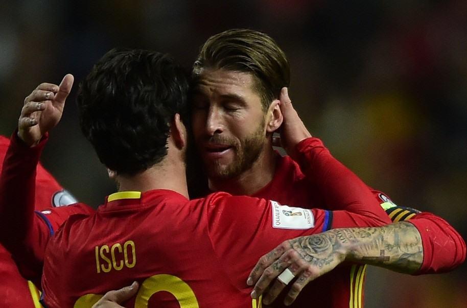 Isco y Ramos
