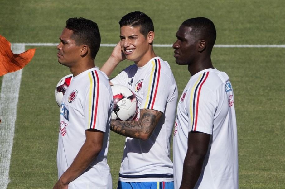James en Selección Colombia