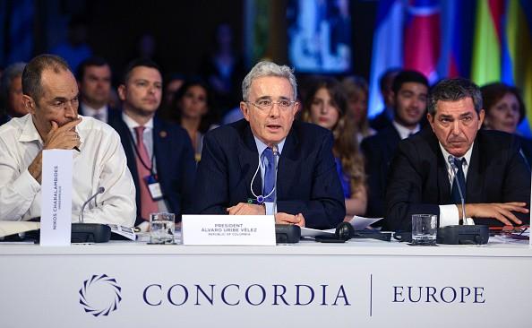 Uribe en Concordia