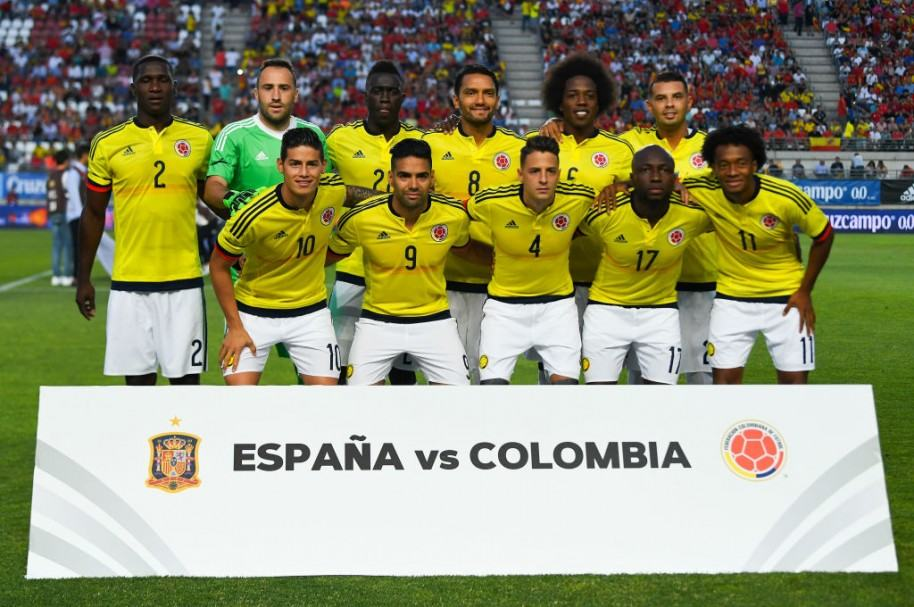 Amistoso internacional entre España y Colombia