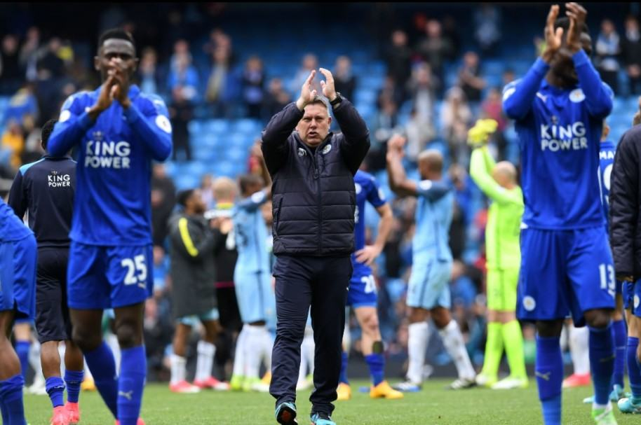 Craig Shakespeare, DT del Leicester