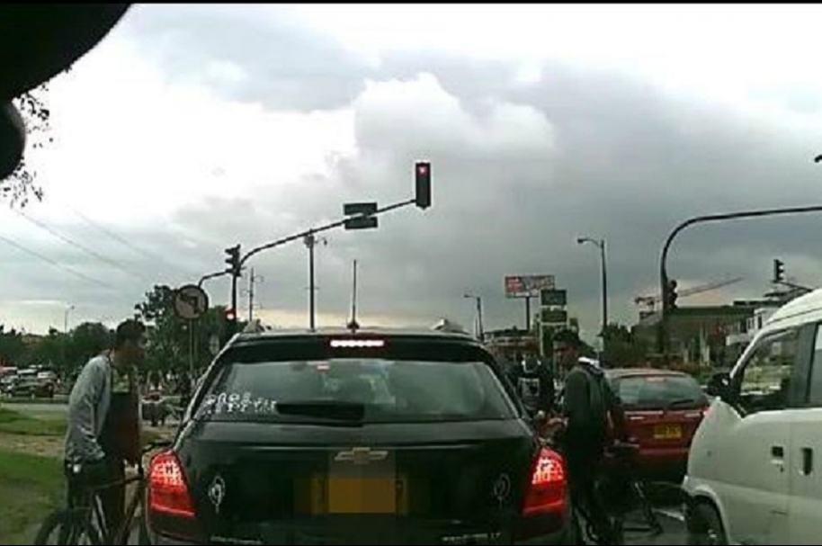 Atracos a conductores en Bogotá