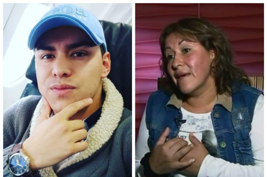 Yeison Jiménez y su madre, Luz Galeano. Pulzo.com
