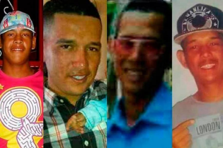 Colombianos asesinados en Venezuela