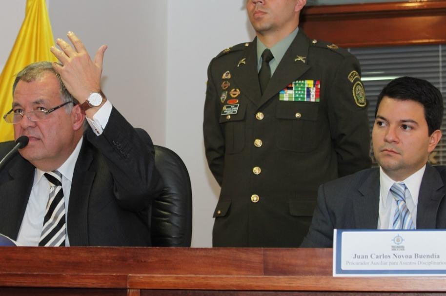 Alejandro Ordóñez y Juan Carlos Novoa