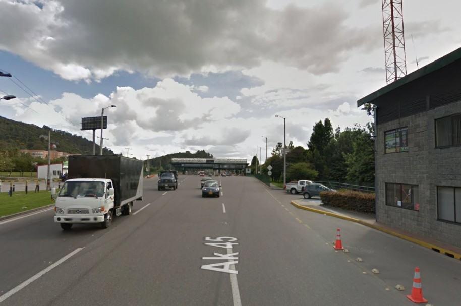 Autopista Norte, Bogotá