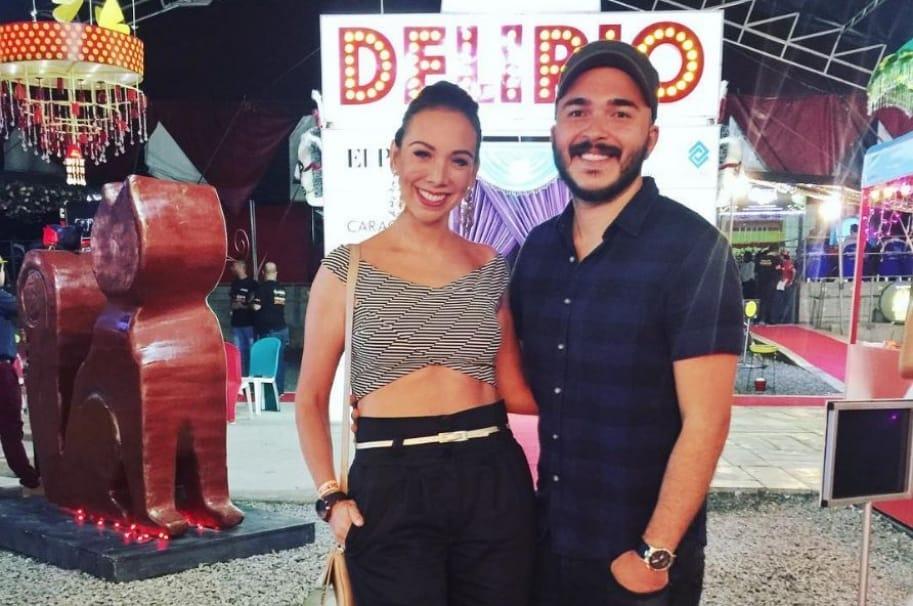 Carlos Montaño y Carolina Núñez, integrantes de Siam.