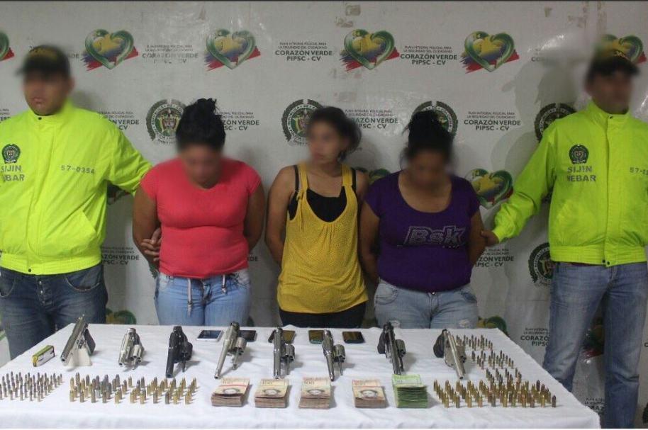 Venezolanas capturas en Barranquilla