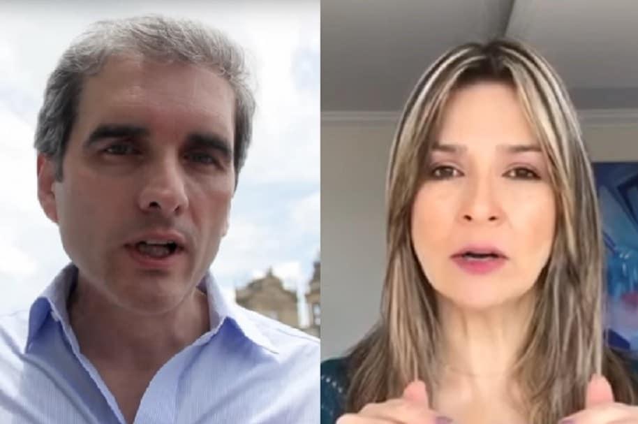 Félix de Bedout y Vicky Dávila