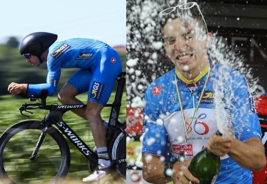 Álvaro Hodeg, campeón de metas volantes de Giro de Italia Sub-23