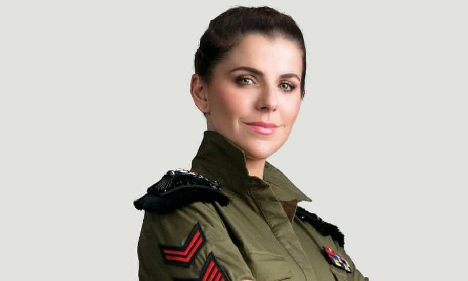 María Fernanda Yepes, actriz y presentadora de 'Soldados 1.0'.