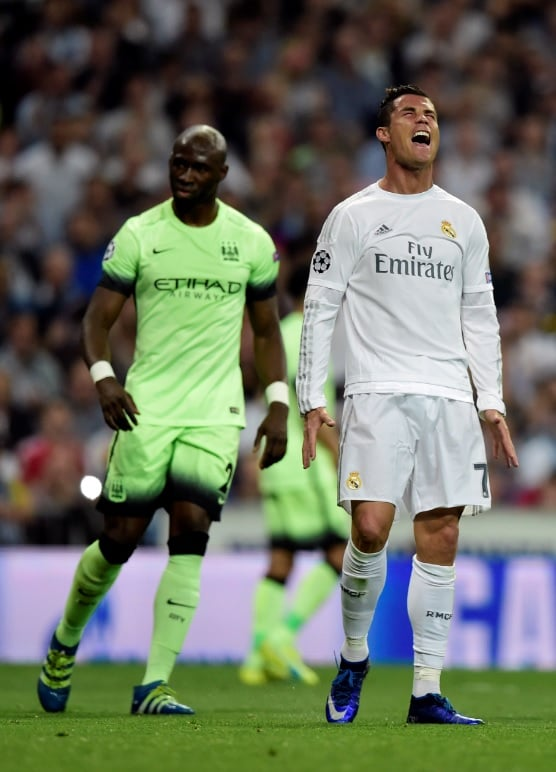 Cristiano Ronaldo en Manchester City