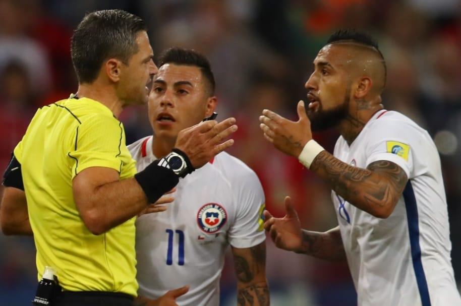 Videoarbitraje de Chile contra Camerún