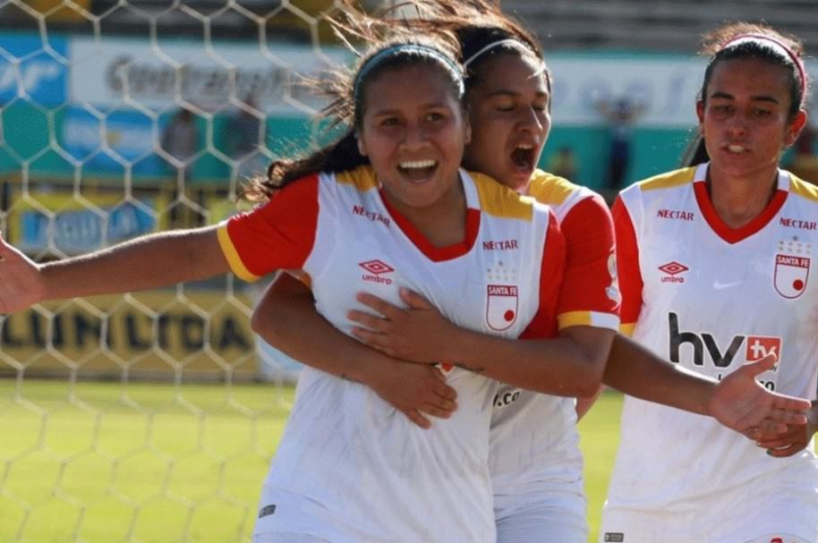 Santa Fe vs. Huila en Liga Femenina