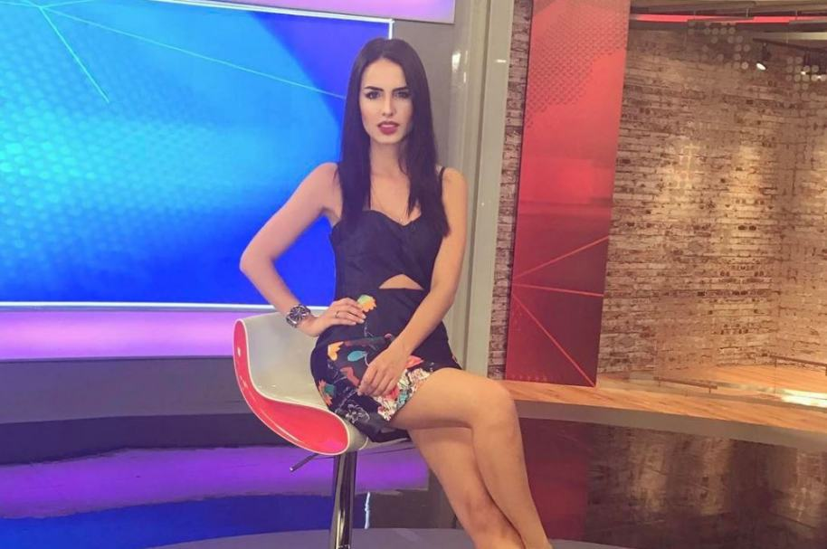 Alejandra Isaza, presentadora.