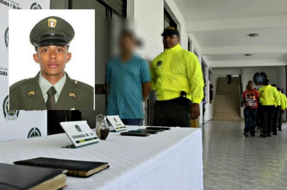 Policía asesinado en Antioquia