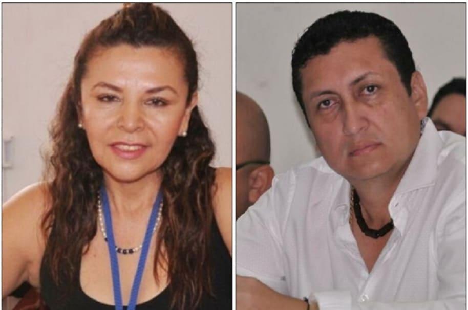 Luz Marina Cardozo Lozano y Jhon Torres