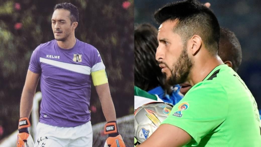 Ricardo Jerez y Camilo Vargas