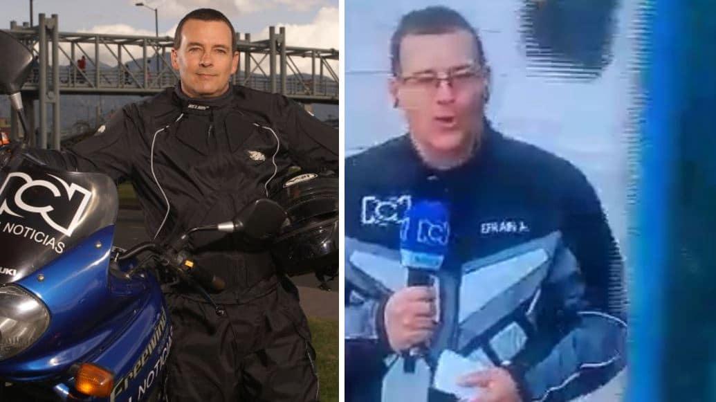 Efraín Arce, periodista de Noticias RCN