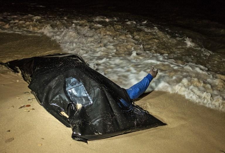 Inmigrante muerto en costa del Líbano. Pulzo.com
