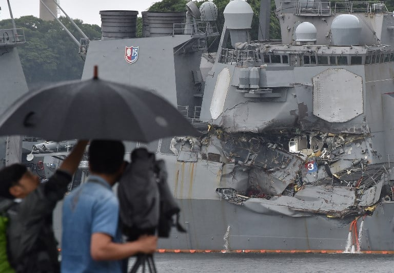Accidente del USS Fitzgerald. Pulzo.com