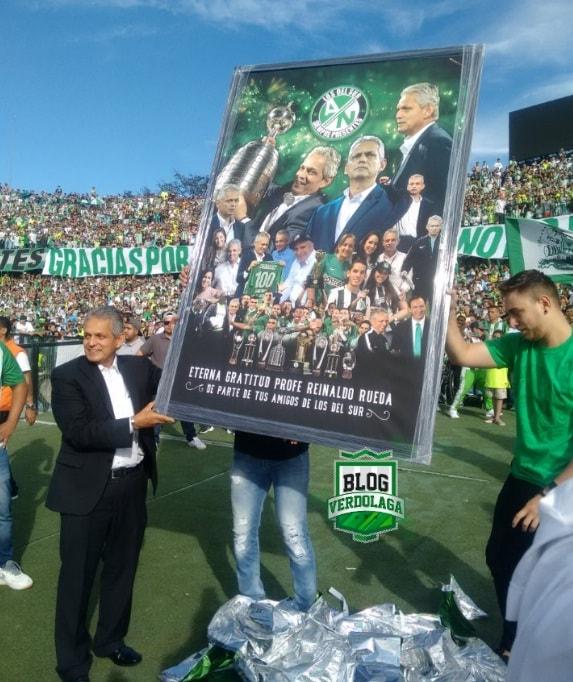 Reinaldo Rueda recibe cuadro