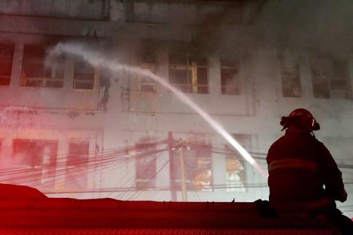 Incendio en Perú
