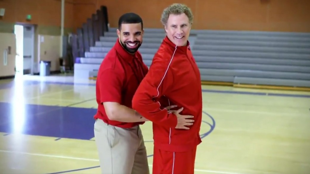 Drake y Will Ferrell como entrenadores de la NBA. Pulzo.com