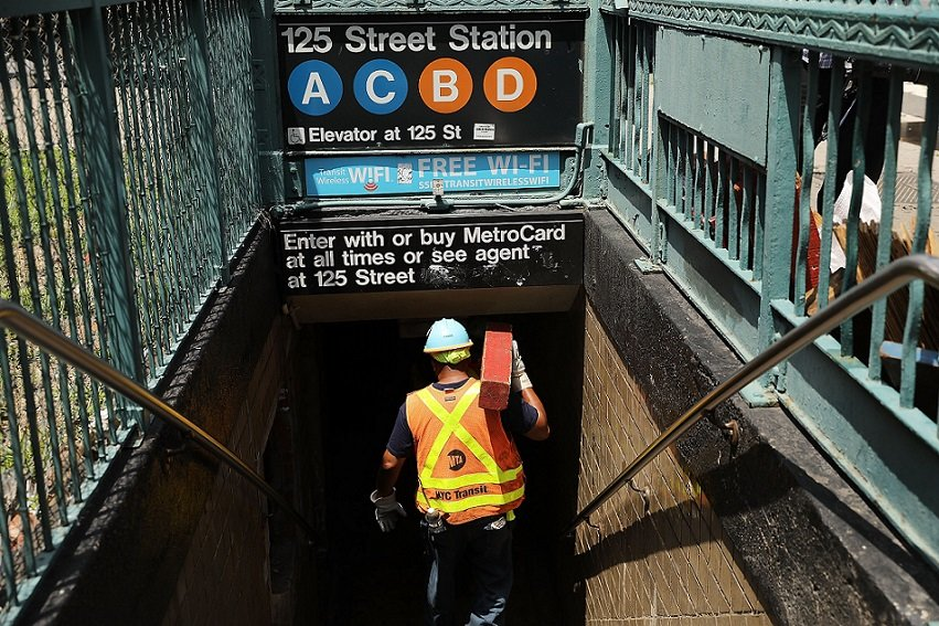 New York City Transit Woes Continue As Subway Car Derails, Injuring 34