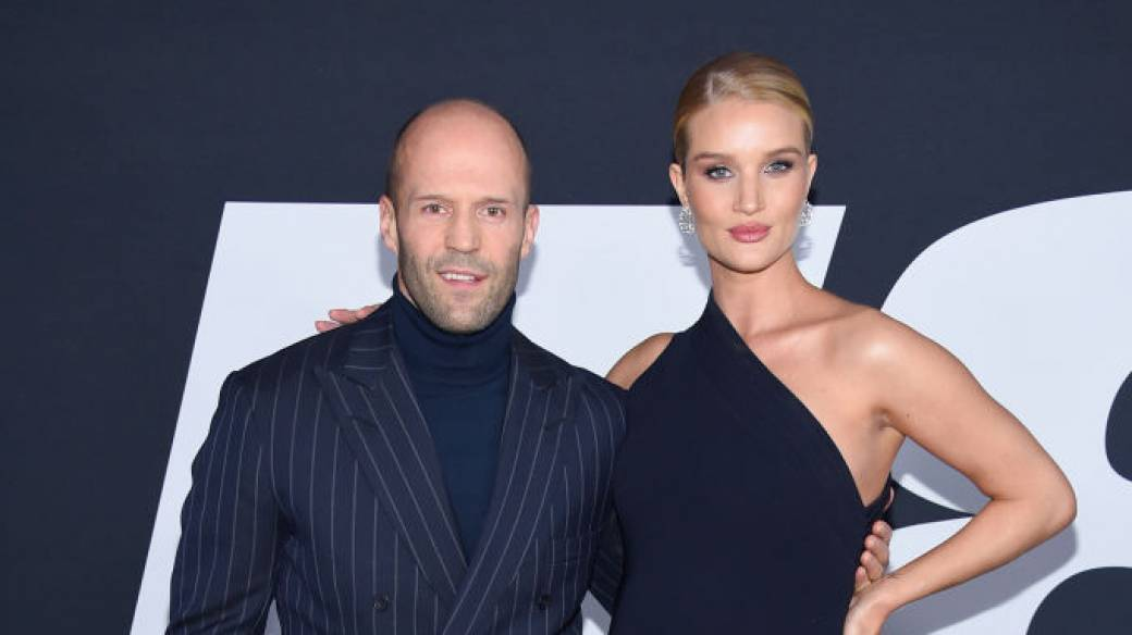 Jason Statham y Rosie-Huntington-Whiteley