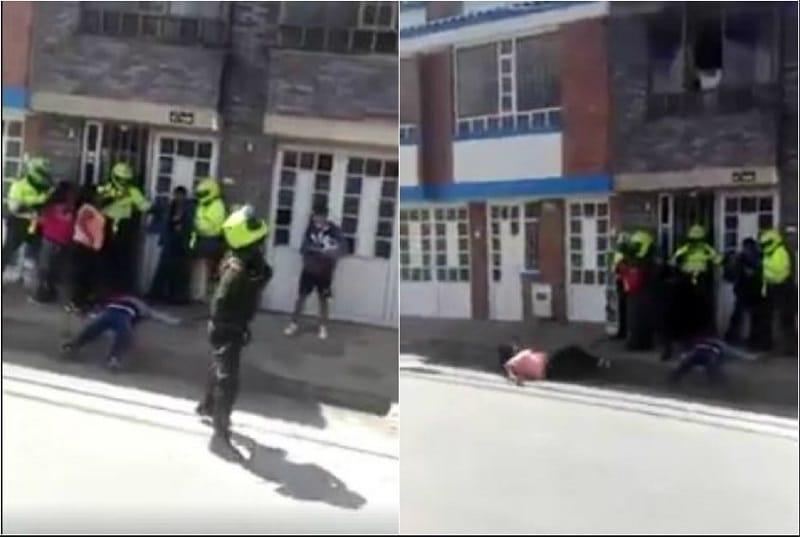 Agresión de policía
