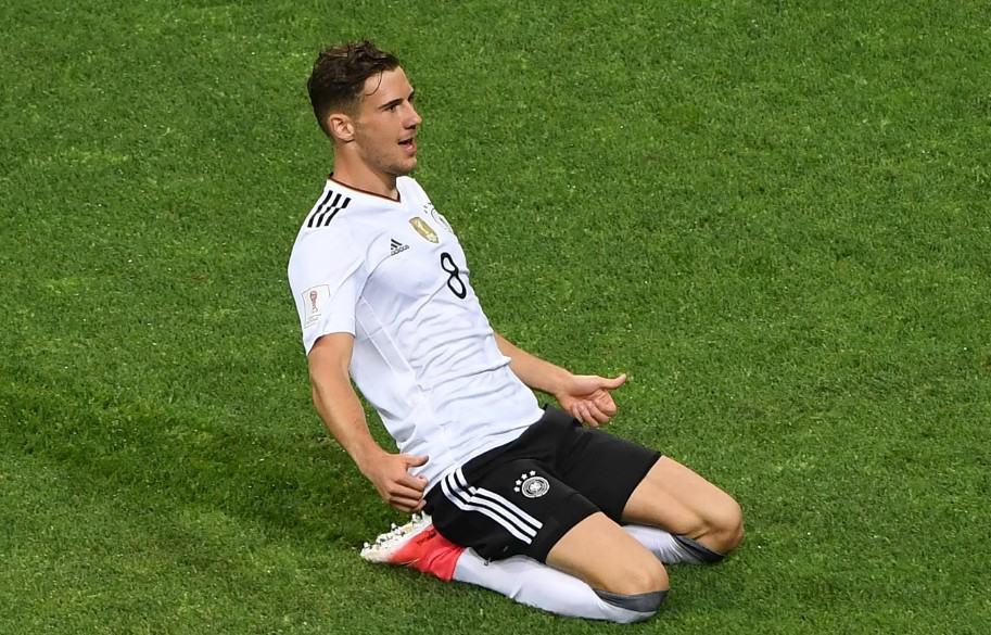 Gol de Alemania contra México