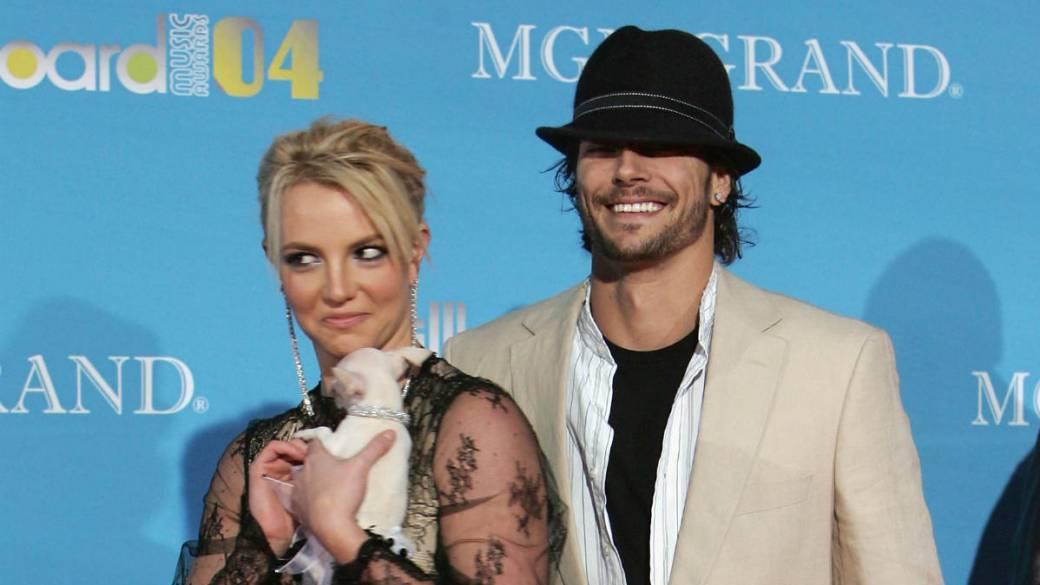 Britney Spears y Kevin Federline