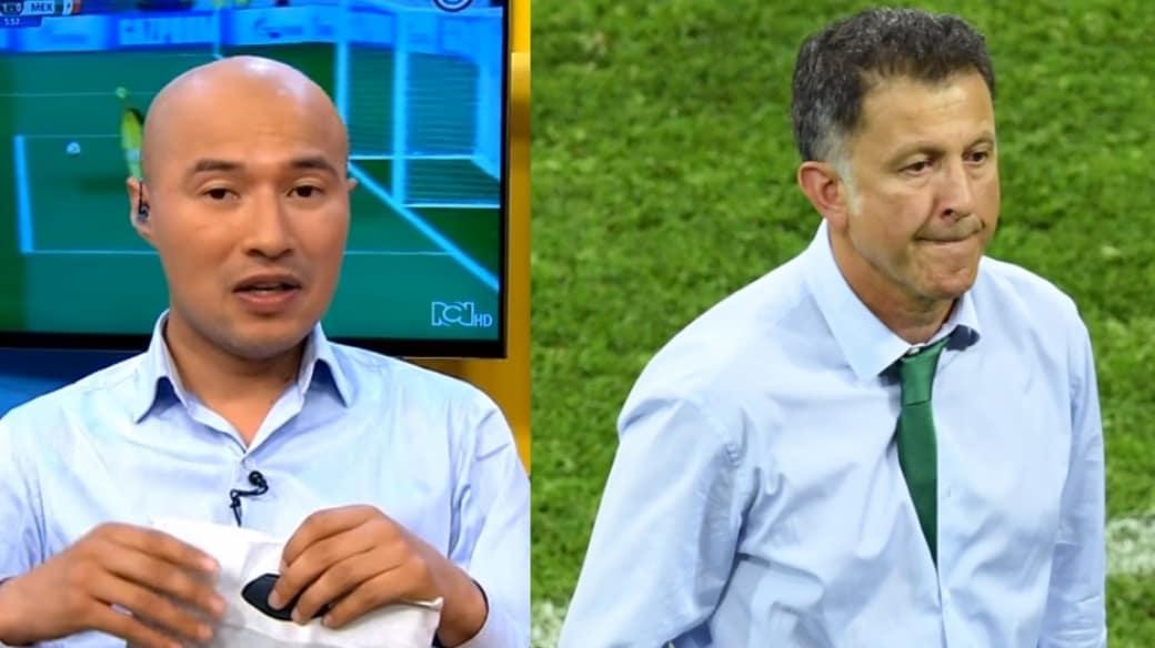 Jorge Bermúdez y Juan Carlos Osorio