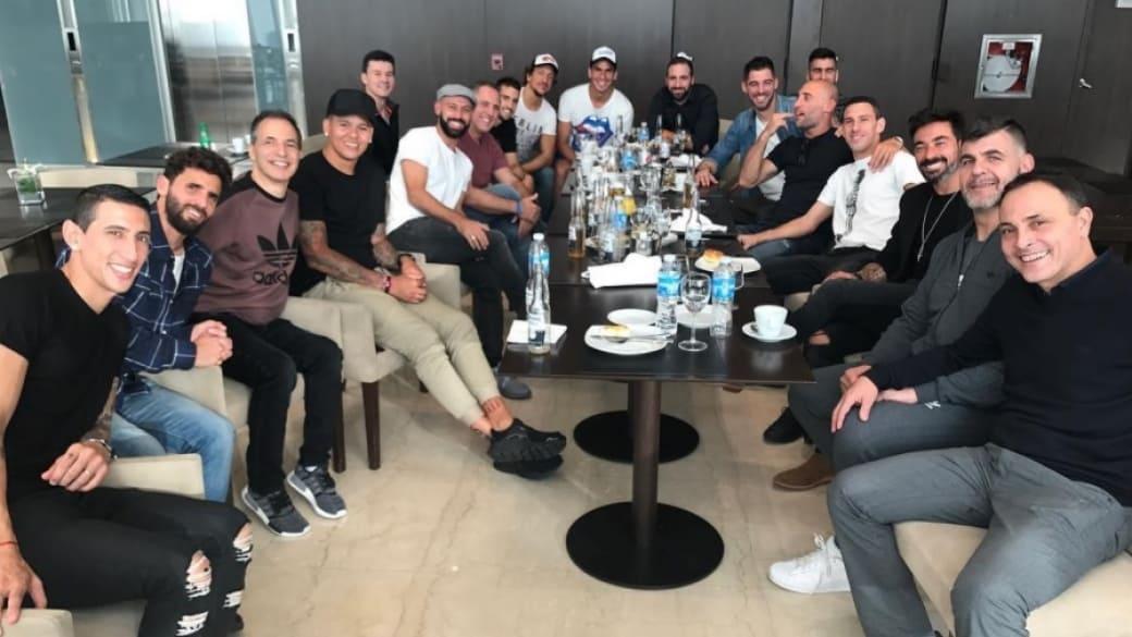 Invitados a boda de Messi