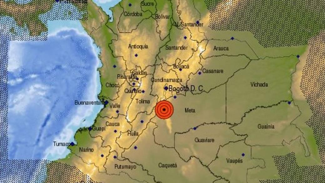 Temblo en Bogotá