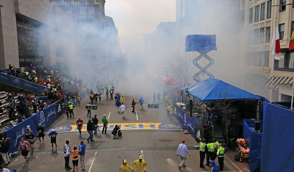 Atentado en la maratón de Boston, en 2013