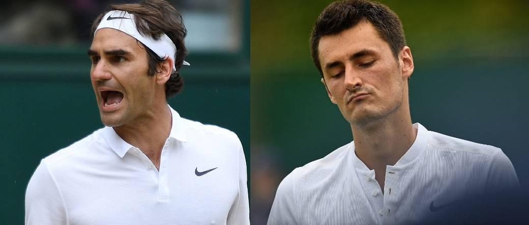 Federer y Tomic