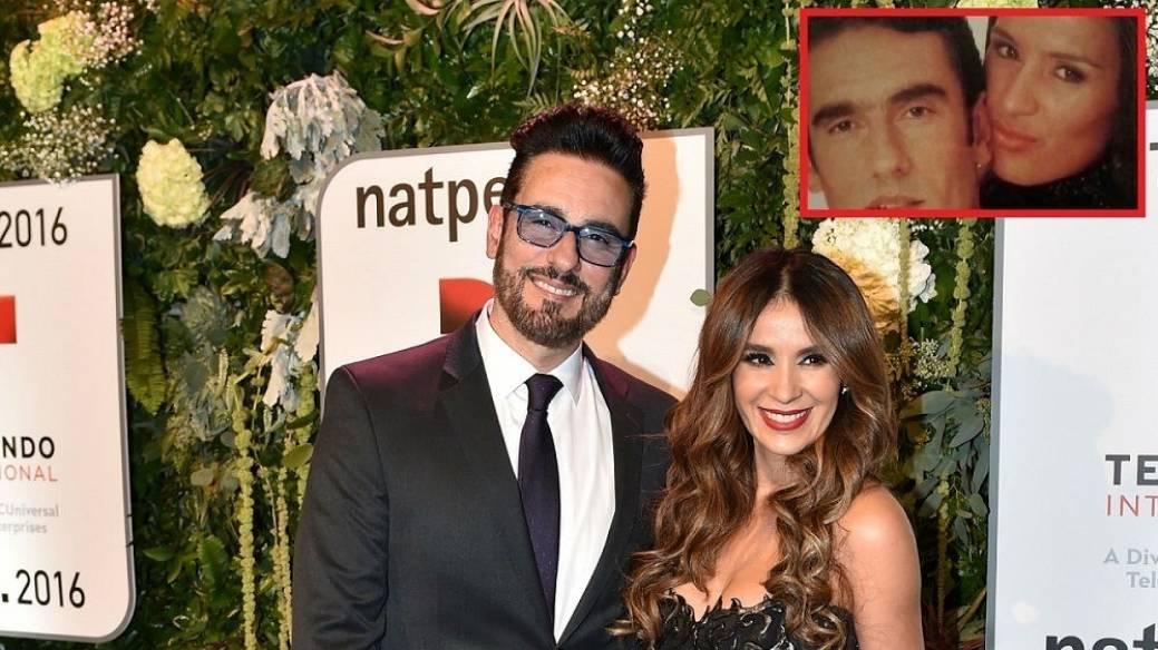 Miguel Varoni y su esposa Catherine Siachoque actores