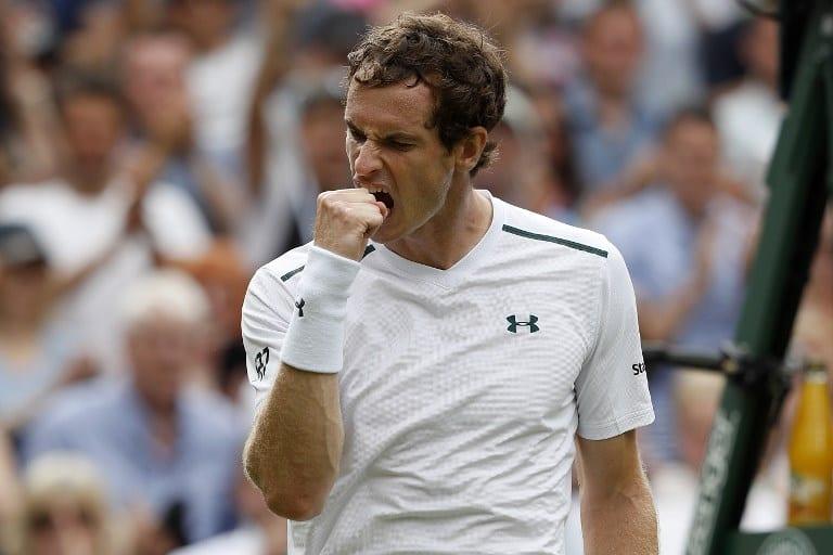 Andy Murray en Wimbledon. Pulzo.com