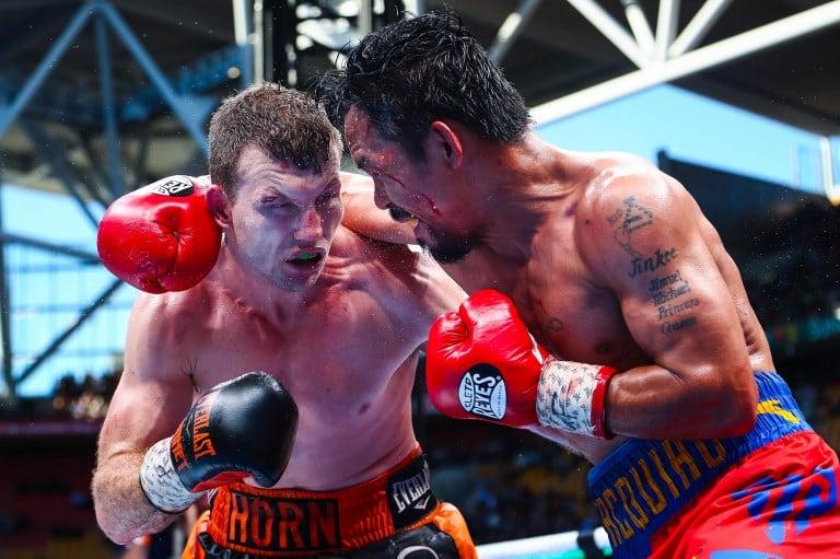 Manny Pacquiao contra Jeff Horn. Pulzo.com