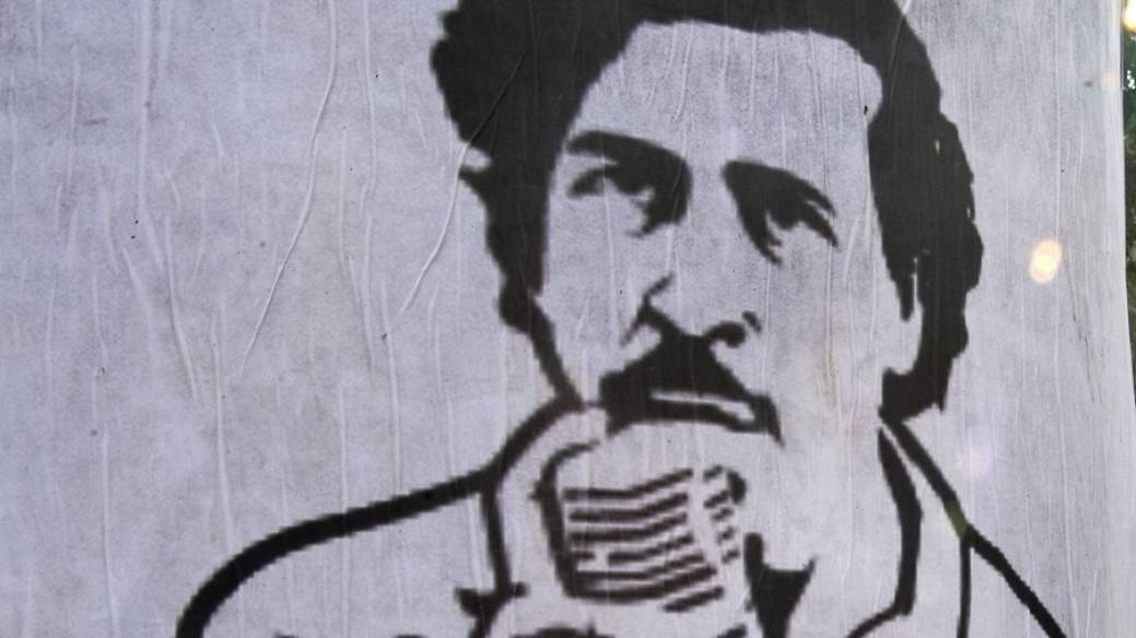 Dibujo de Pablo Escobar