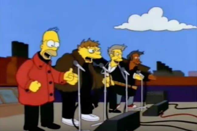 Cuarteto de Homero Simpson, 'Los Borbotones'. Pulzo.com