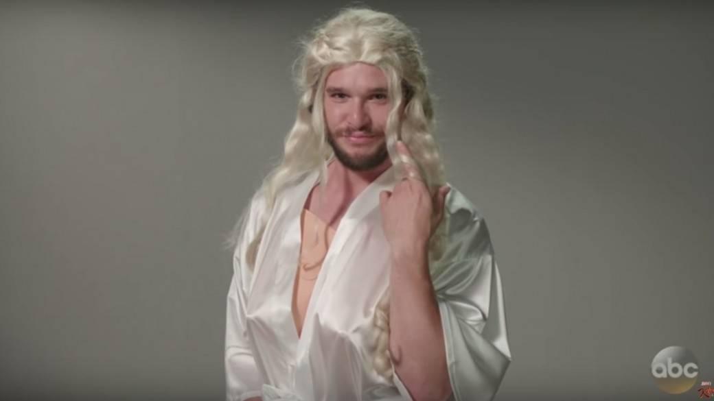 Kit Harington como Daenerys Targaryen. Pulzo.com