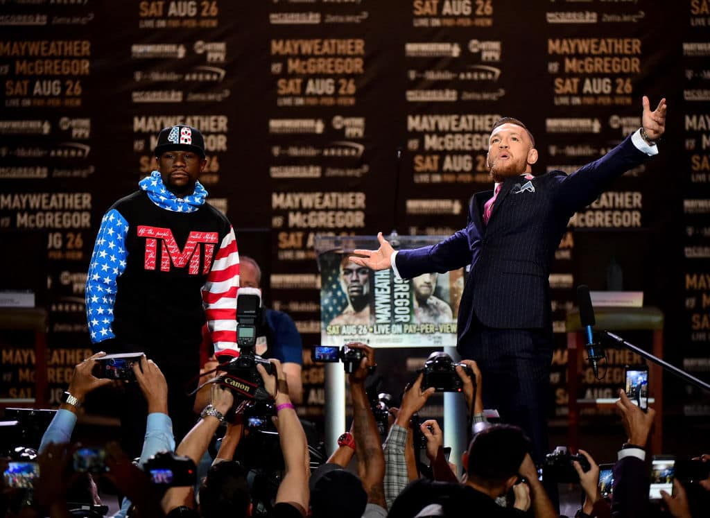 Floyd Mayweather Jr. vs. Conor McGregor