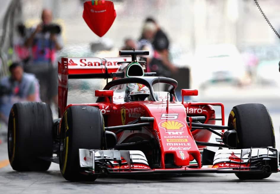 El Halo en carro de Fórmula 1